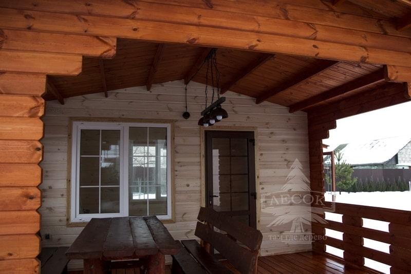 дома из двойного бруса под ключ от dom.lesok